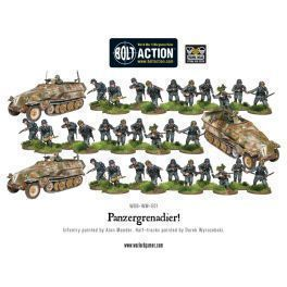 Panzergrenadier Pl (3 Halfracks & 30 Infantry)