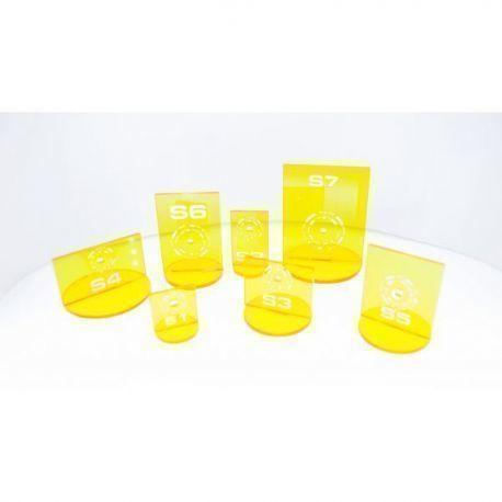 N3 Silhouette Yellow