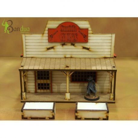Prepainted Far West Shop 1