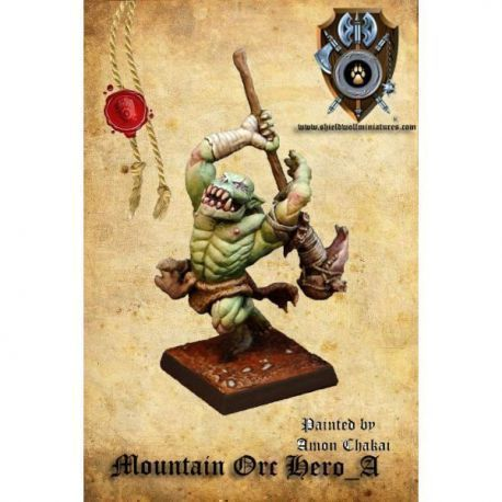 Mountain Orc Hero_A (two-handed weapon)