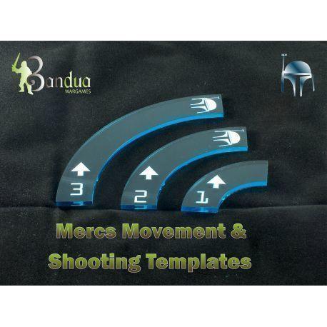 Mercs Movement & Shooting Templates