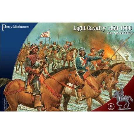 Light Cavalry 1450-1500 (12 mounted figures)