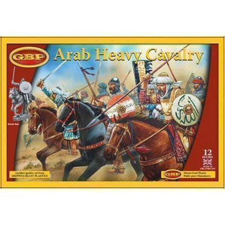 ARAB HEAVY CAVALRY    (12 mounted figures)