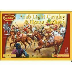 ARAB LIGHT CAVALRY & HORSE ARCHERS (12 mounted figures)