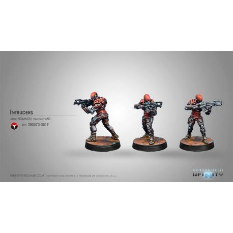 Intruder, Corregidor Assault Commandos (HMG)
