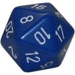 5 x Blue D20 Dice