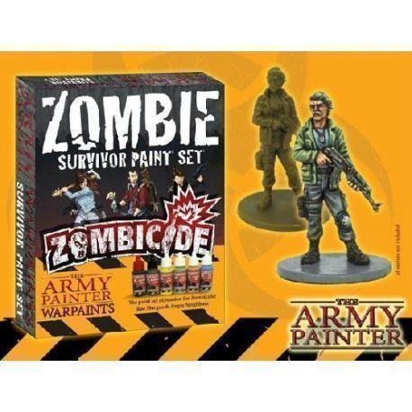 Zombie Survivor Paint Set