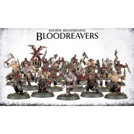 KHORNE BLOODBOUND BLOOD REAVERS