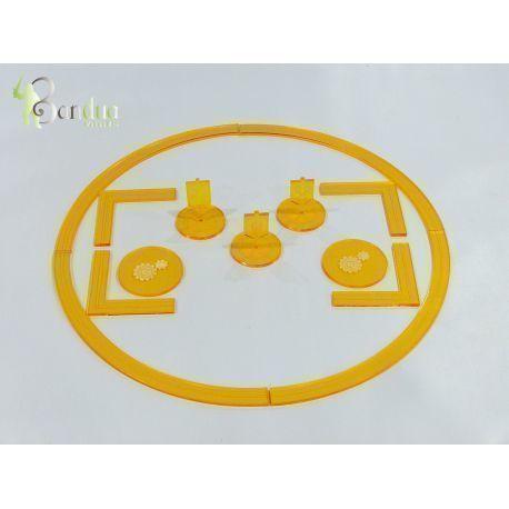 Warmachine Tokens Yellow
