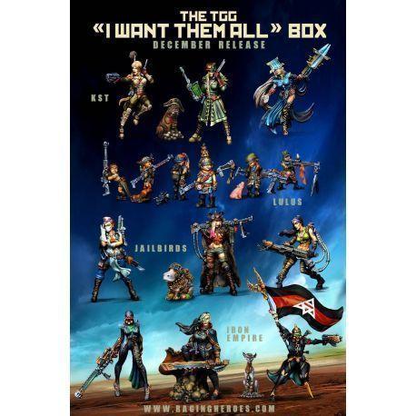 """TGG """"I WANT THEM ALL"""" BOX"""
