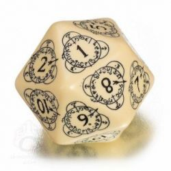 d20 Beige & black Card Game Level Counter (1)