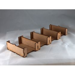 Card Holder 42x64, 4 Spaces