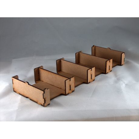 Card Holder 59x92, 4 Spaces