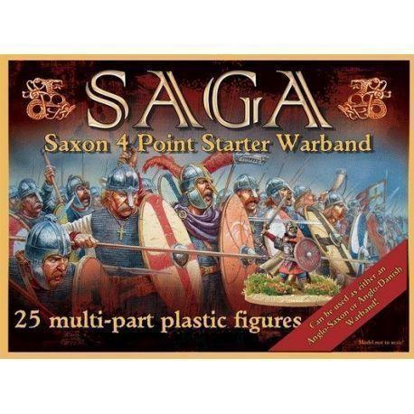 Plastic Saxon (Anglo-Dane) Starter (4 points)
