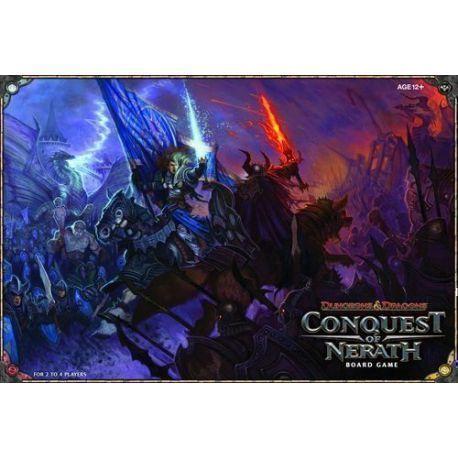 D&D TABLERO: CONQUEST OF NERATH juego en inglés