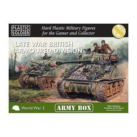 15MM LATE WAR BRITISH ARMOURED DIVISION ARMY BOX