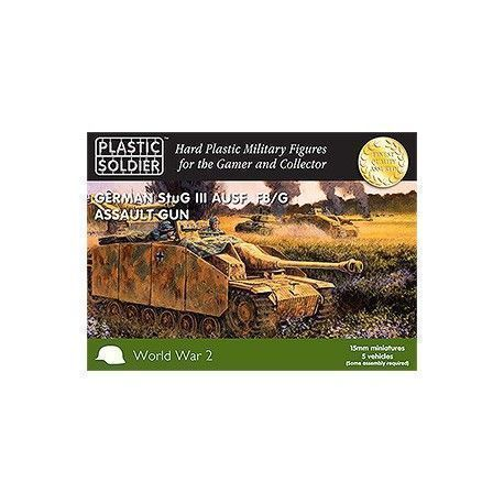 15MM EASY ASSEMBLY GERMAN STUG III TANK