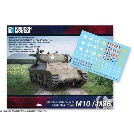 M10/M36 Tank Destroyer