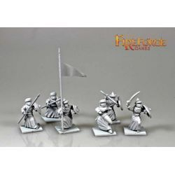 Arab Sudanese Command (3 infantry resin figures)