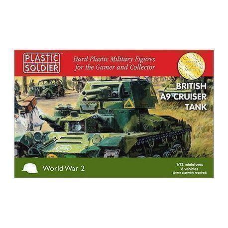 3 x 20mm British A9 Cruiser Tank