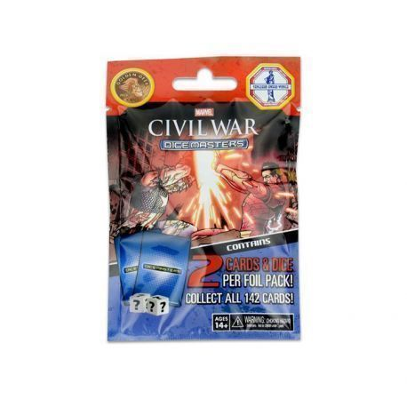 SOBRE DICE MASTERS - CIVIL WAR (ESPAÑOL) (1)