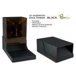 Dice Tower Black