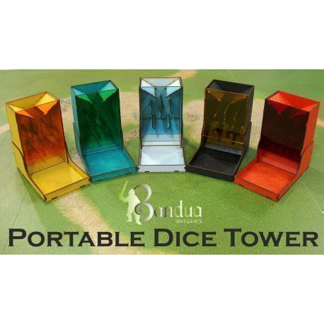 Dice Tower Yellow