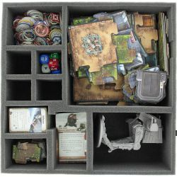 AFDA085BO 85 mm (3.35 inches) foam tray for Star Wars Imperial Assault board game box