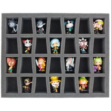 FS050KR04 50 mm (2 inch) full-size Figure Foam Tray for 28 Krosmaster figures