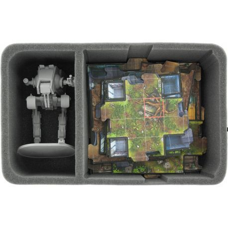 HS085IA02 85 mm (3.35 inches) half-size figure foam tray for Star Wars Imperial Assault