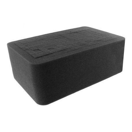 HS100R half-size Raster Foam Tray 100 mm (4 inch)