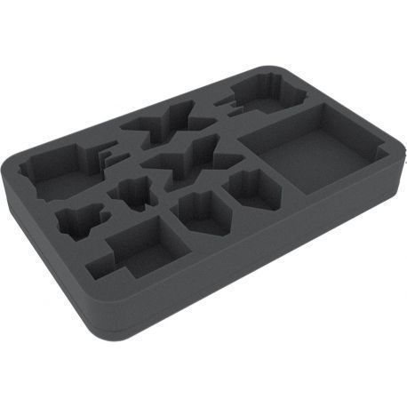 HSBV040BO foam tray for X-Wing StarViper, M3-A Interceptor, IG-2000, Z-95 und Y-Wing