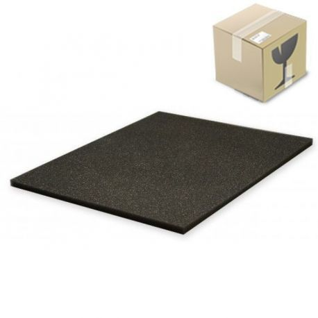 KAFS010B 175pcs. carton 10 mm (0,4 Inch) Figure Foam Tray full-size Bottom / Topper