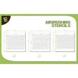 Bandua Stencils: Triangles Pattern 1