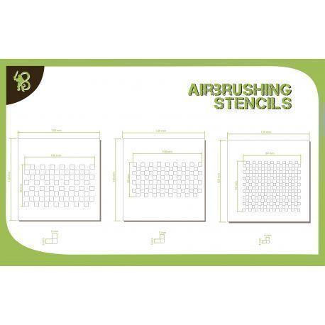 Bandua Stencils: Chess Pattern 2