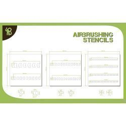 Bandua Stencils: Arrows 1