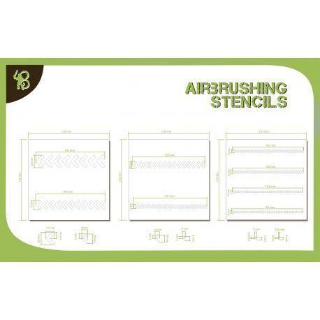 Bandua Stencils: Arrows 2