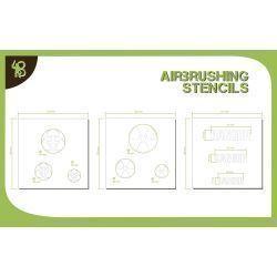 Bandua Stencils: Symbols: Chemical