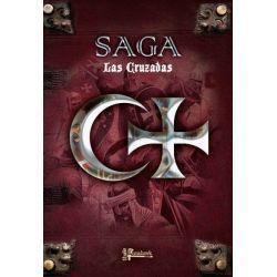 SAGA The Crescent & The Cross Rulebook.
