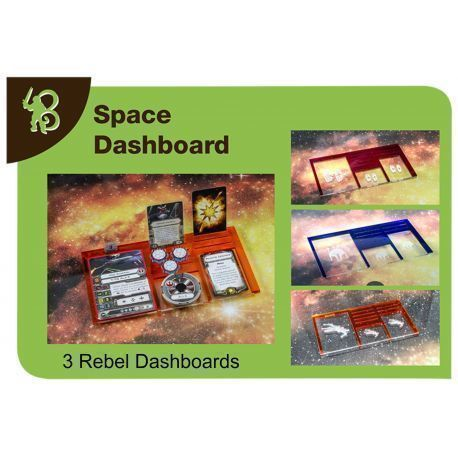 Space Dashboards Pack Rebels