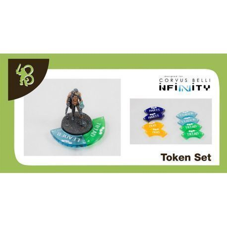 Fire Teams Tokens Set