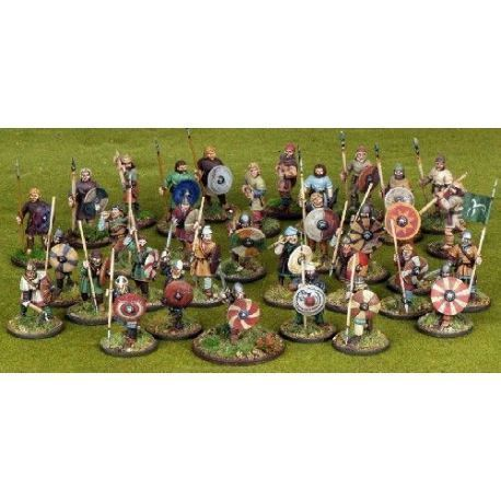 Anglo-Saxon Warband Starter (4 points)