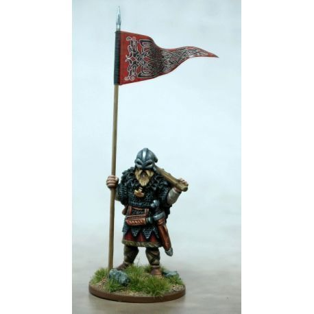 Viking War Banner & Bearer