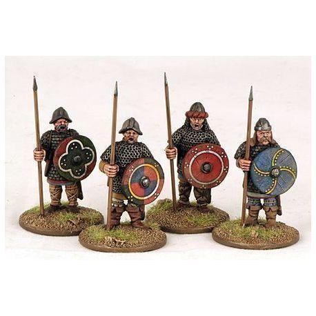 Carolingian Hearthguard On Foot