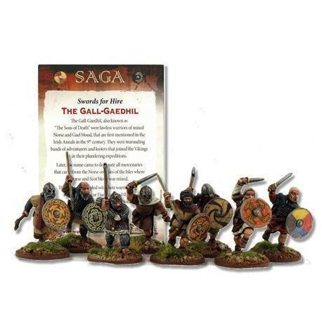 The Gall-Gaedhil, Sons Of Death (inc Rules Card)