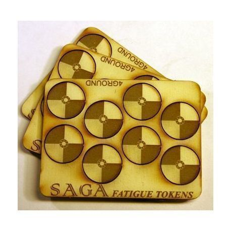 Fatigue Markers - Shields (Round) (10)