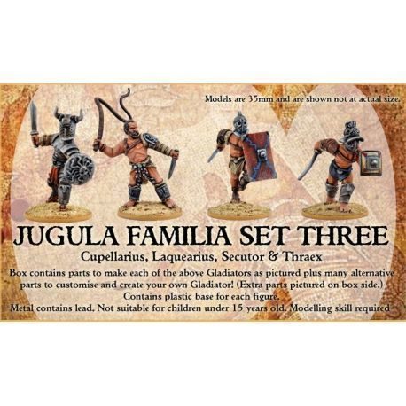 JUGULA Gladiators - FAMILIA 3