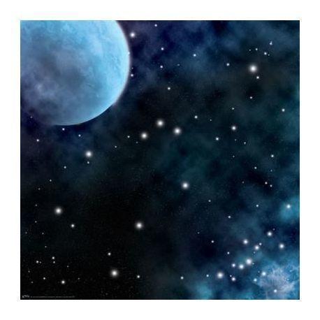 "Frozen Planet Space Mat (36x36"")"""