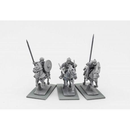 Chernyeklobuki with lances (Black Hood)