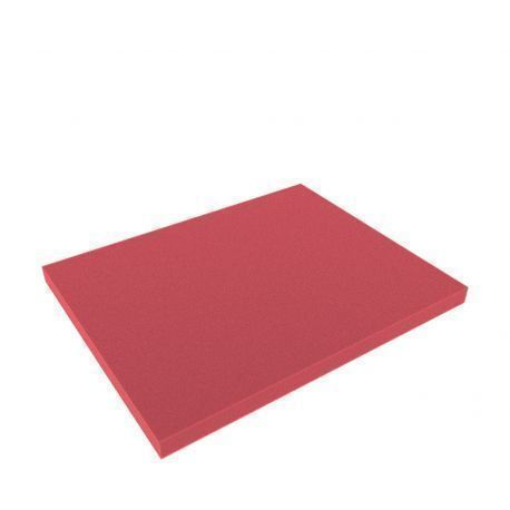 FS020Bred 345 mm x 275 mm x 20 mm colored foam for Shadowboard red